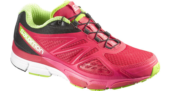 Salomon W's X-Scream 3D Shoes Lotus Pink/Black/Granny Green